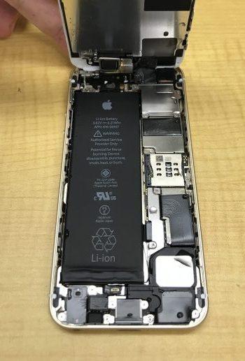 iPhoneSE 水没