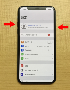 iPhoneX スクリーンショット