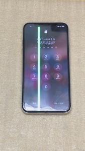 iPhoneX 液晶不良