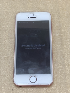 iPhone Repair iPhone is disabled