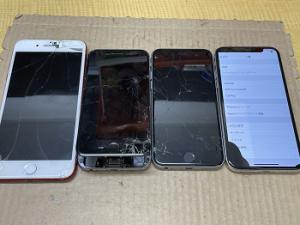iPhone Repair ガラス割れ